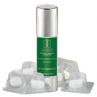 MBR Pure Perfection 100 N® Perfect Liquid Mask 30ml + 6 Vlies-Matrix