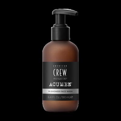 American Crew Acumen In-Shower Face Wash 190ml