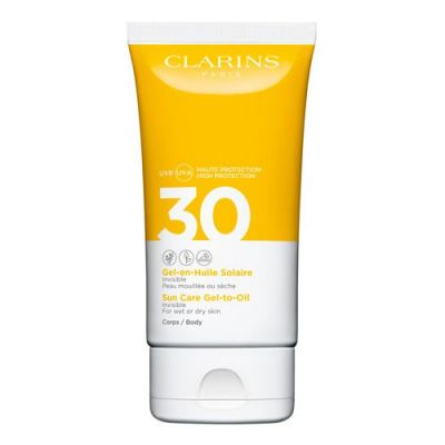 Clarins Gel-en-Huile Solaire Corps UVB/UVA 30 150ml