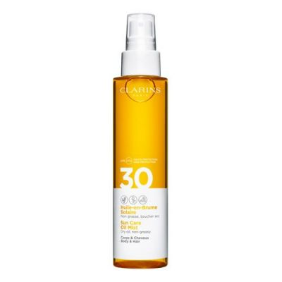 Clarins Huile-en-Brume Solaire Corps & Cheveux UVB/UVA 30 150ml