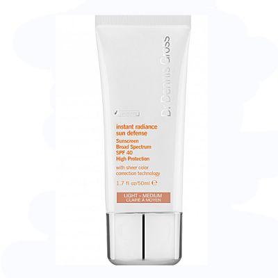 Dr. Dennis Gross Instant Radiance Sun Defense SPF40 Medium-Deep 50ml
