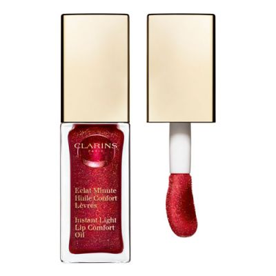 Clarins Eclat Minute Huile Confort Lèvres Red Berry Glam 7ml