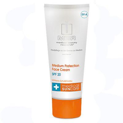 MBR medical SUN care® Medium Protection Face Cream SPF 20